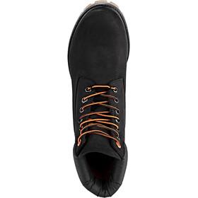 "Timberland Premium Boots 6"" Herren black nubuck/orange"